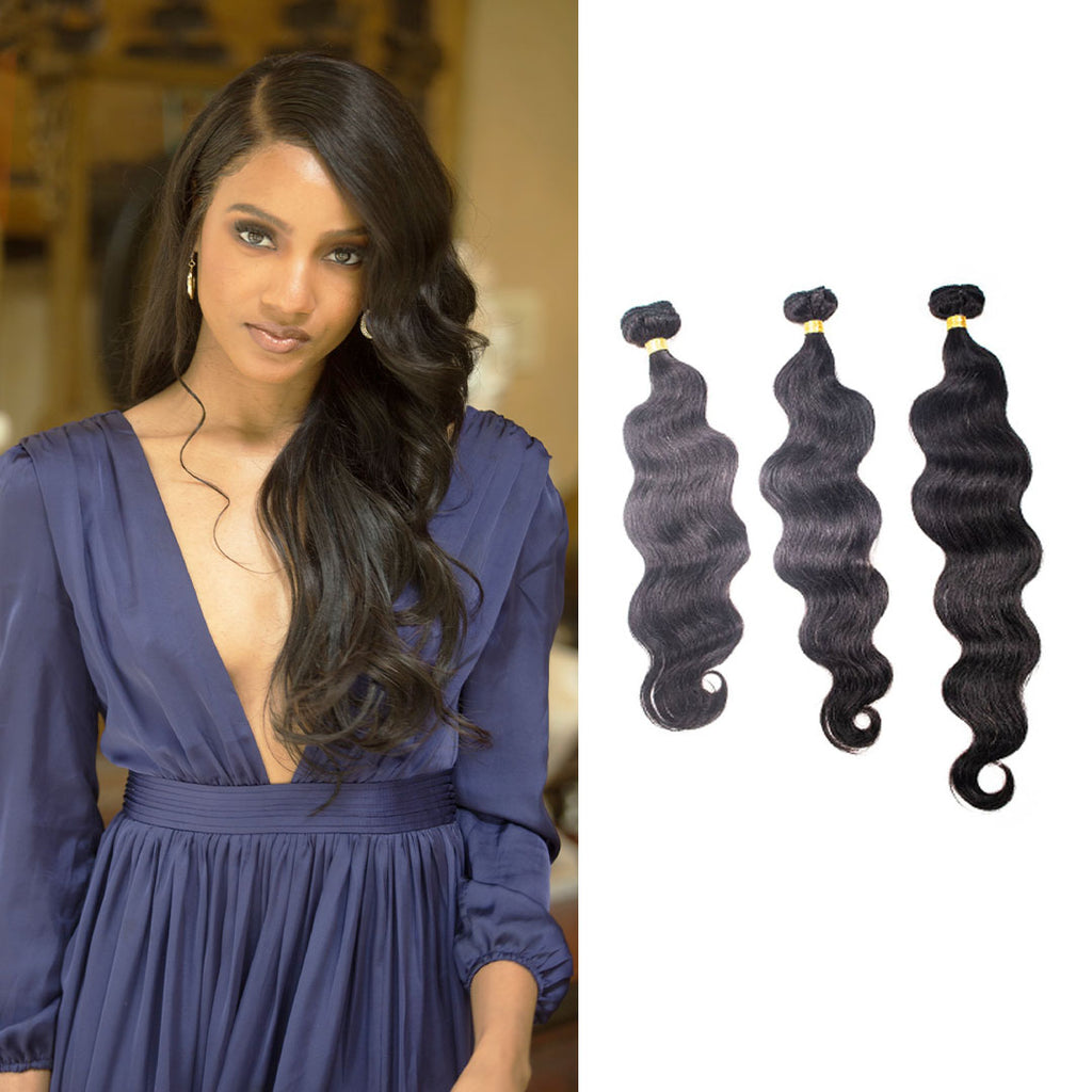 Crown Jewels Brazilian Body Wave 3 Bundles
