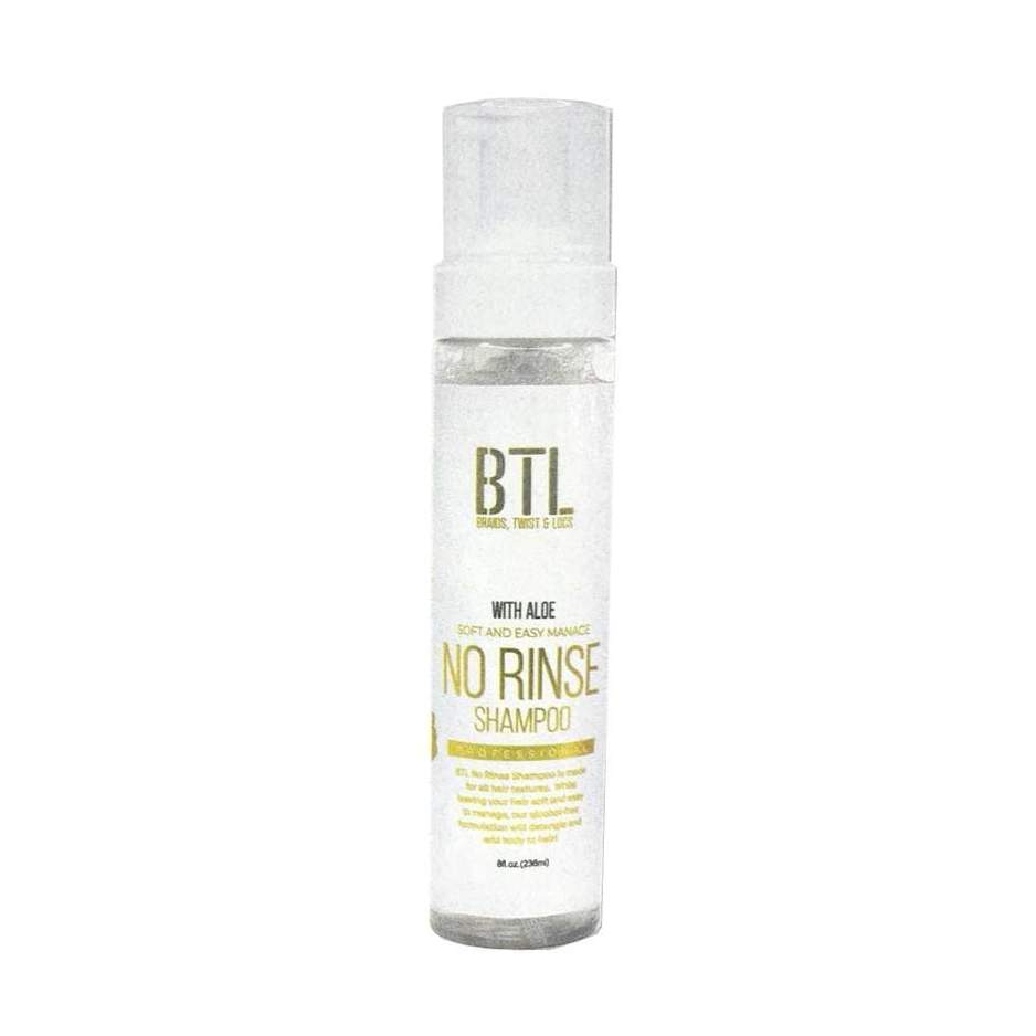 BTL Professional Foam No Rinse Shampoo with Aloe