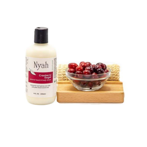 NYAH BEAUTY Cranberry Sugar Lotion