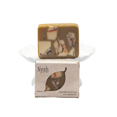 NYAH BEAUTY Brown Sugar and Fig Soap