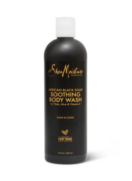 SHEA MOISTURE African Black Soap Shea Butter Wash