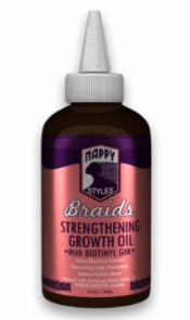 NAPPY STYLES Braids Growth Oil