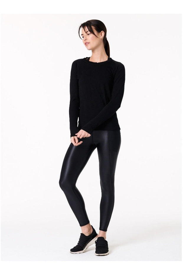 Perf Legging Shine On