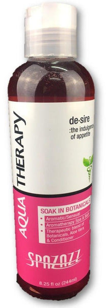 8.25oz(245ml) Aqua Therapy Elixer - De-sire