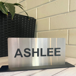 Office Door / Desk Name Plaque