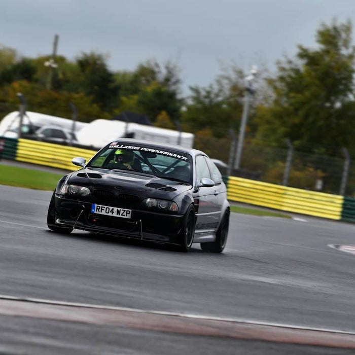 Croft Trackday in our E46 M3