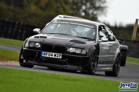 williams performance bmw e46 m3 track day car race s54 b58