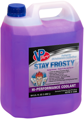 VP Racing Stay Frosty Hi-Performance Coolant 1.9L - Williams Performance Ltd