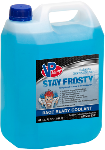 VP Racing Stay Frosty Race Ready Coolant 1.9L - Williams Performance Ltd