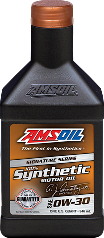 Amsoil SIGNATURE SERIES 0W-30 SYNTHETIC ENGINE OIL 946ml