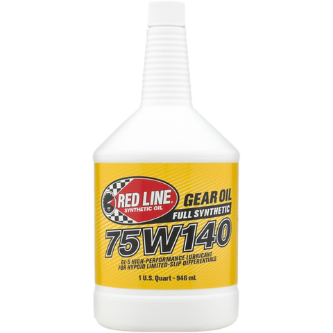 Redline 75W140 GL-5 Gear Oil BMW LSD
