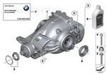 BMW GENUINE Differential Fluid Hypoid axle oil G1 0.5ltr 83222295532 - Williams Performance Ltd