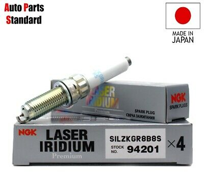NGK 94201 SILZKGR8B8S Laser Iridium Spark Plugs B58 M140i M240i - Williams Performance Ltd
