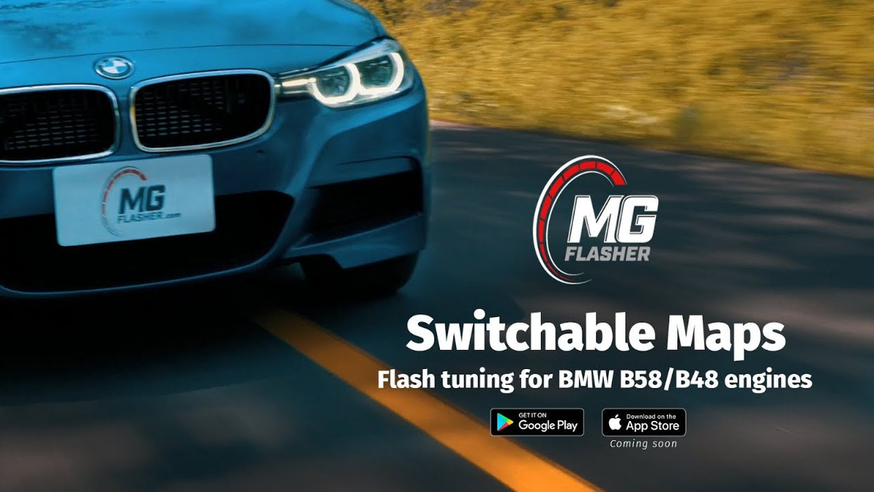 MG Flasher BMW B48 B58 ECU Tuning Software FREE ENET CABLE