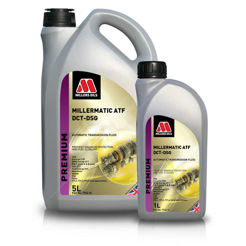 Millers MILLERMATIC ATF DCT-DSG 5ltr - Williams Performance Ltd