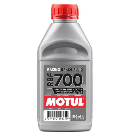 Motul RBF 700 Factory Line Racing Brake Fluid 0.5L