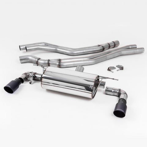 Milltek BMW M140i Cat Back Race Exhaust System Non-Resonated - Williams Performance Ltd
