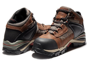 TIMBERLAND PRO MEN'S HYPERION MID ALLOY TOE WORK BOOTS WATER PROOF
