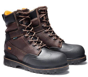 "TIMBERLAND PRO MEN'S RIGMASTER 8"" STEEL TOE WORK BOOTS"