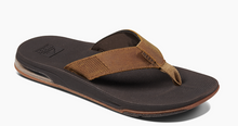Load image into Gallery viewer, REEF MEN'S LEATHER FANNING LOW