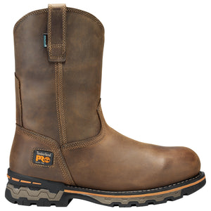 TIMBERLAND PRO MEN'S AG BOSS ALLOY TOE PULL-ON WORK BOOTS