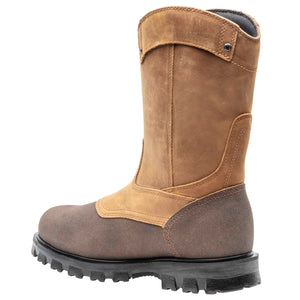 TIMBERLAND PRO MEN'S RIGMASTER STEEL TOE WELLINGTON BOOTS