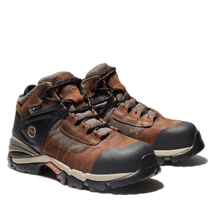 TIMBERLAND PRO MEN'S HYPERION MID ALLOY TOE WORK BOOTS