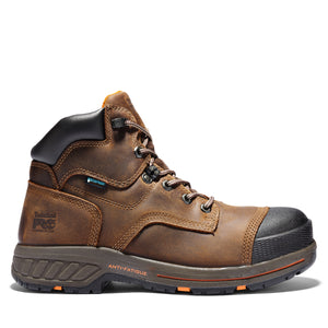 "TIMBERLAND PRO MEN'S HELIX HD 6"" COMPOSITE TOE WORK BOOTS"