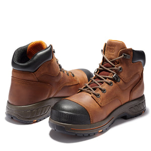 "TIMBERLAND PRO MEN'S HELIX HD 6"" SOFT TOE WORK BOOTS"