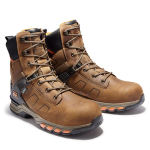 "TIMBERLAND PRO MEN'S  HYPERCHARGE 8"" COMPOSITE TOE WORK BOOTS"
