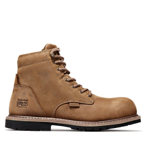 "TIMBERLAND PRO MEN'S MILLWORKS 6"" COMPOSITE TOE BOOT"