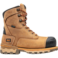 "Load image into Gallery viewer, TIMBERLAND PRO MEN'S BOONDOCK 8"" COMPOSITE TOE WORK BOOTS"