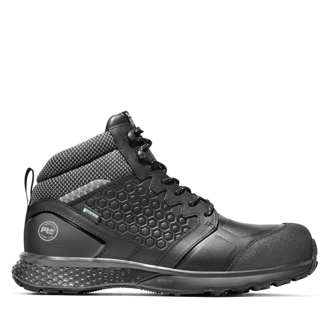 TIMBERLAND PRO MEN'S REAXION COMPOSITE TOE WORK BOOTS