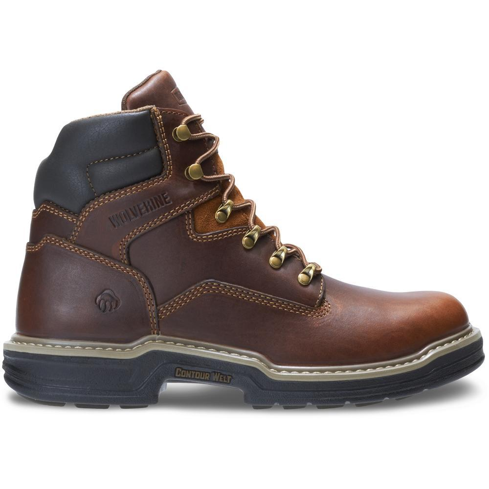 WOLVERINE MEN'S RAIDER STEEL-TOE 6