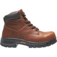 "Load image into Gallery viewer, WOLVERINE MEN'S HARRISON LACE-UP STEEL-TOE 6"" WORK BOOT"
