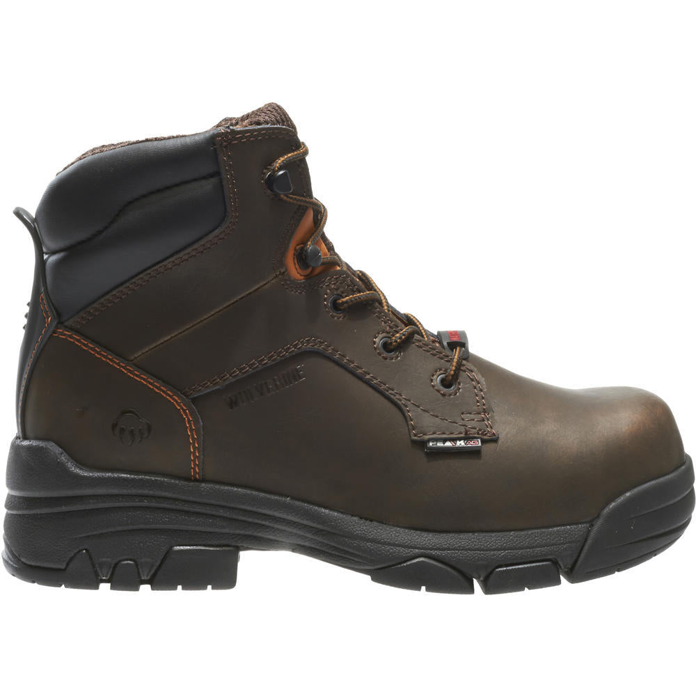 WOLVERINE MEN'S MERLIN WATERPROOF COMPOSITE-TOE 6
