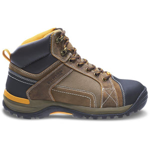 WOLVERINE MEN'S CHISEL MID-CUT STEEL-TOE WORK BOOT