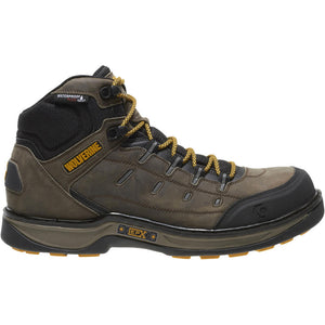 WOLVERINE MEN'S EDGE LX EPX WATERPROOF CARBONMAX COMPOSITE TOE WORK BOOT
