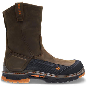 WOLVERINE MEN'S OVERPASS WATERPROOF CARBONMAX COMPOSITE TOE WELLINGTON WORK BOOT