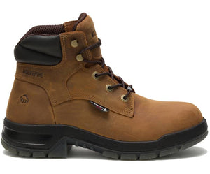 "WOLVERINE MEN'S RAMPARTS WATERPROOF PLUS 6"" WORK BOOT"