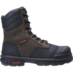 "WOLVERINE MEN'S YUKON WATERPROOF PLUS CARBONMAX 8"" SAFETY TOE WORK BOOT"
