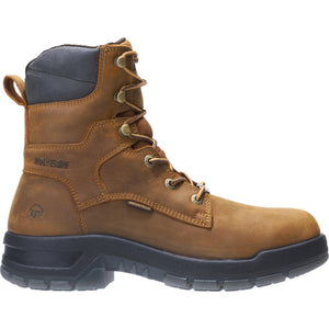 "WOLVERINE MEN'S RAMPARTS WATERPROOF CARBONMAX COMPOSITE TOE 8"" WORK BOOT"