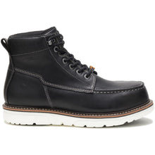 "Load image into Gallery viewer, WOLVERINE MEN'S I-90 DURASHOCKS MOC-TOE WATERPROOF CARBONMAX COMPOSITE 6"" WORK BOOT"