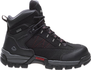 "WOLVERINE MEN'S AMPHIBIAN COMPOSITE-TOE EH WATERPROOF 6"" WORK BOOT"
