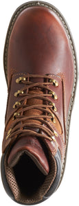 "WOLVERINE MEN'S RAIDER STEEL-TOE 6"" WORK BOOT"