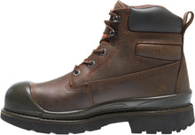 "Load image into Gallery viewer, WOLVERINE MEN'S CRAWFORD WATERPROOF 6"" STEEL-TOE WORK BOOT"
