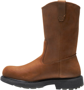 WOLVERINE MEN'S DD WORK STEEL TOE WELLINGTON BOOT
