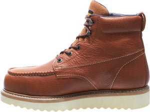"WOLVERINE MEN'S MOC-TOE STEEL-TOE EH 6"" WORK BOOT"