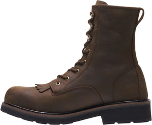 "WOLVERINE MEN'S RANCHERO 8"" KILTIE STEEL TOE BOOT"