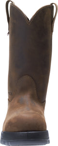 WOLVERINE MEN'S RAMPARTS WP CARBONMAX COMPOSITE TOE WELLINGTON WORK BOOT